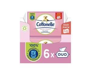 Cottonelle Feuchtes Toilettenpapier 6x Duo-Pack -> 12 Packungen [Amazon Prime Sparabo] ~0,74 Cent pro Packung