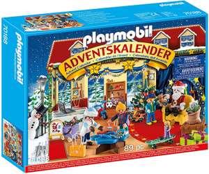 PLAYMOBIL Adventskalender 70188 Weihnachten im Spielwarengeschäft für 14€