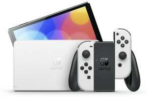 Nintendo Switch OLED (schwarz/weiß) Amazon.fr
