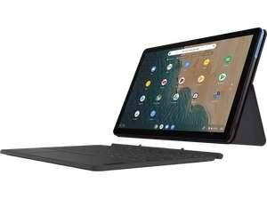 [MediaMarkt MwSt. Aktion] Lenovo Ideapad Duet Chromebook, 4/64 gb, 10,1 Zoll, inkl. Tastatur und Stift (Preis mit NL Gutschein)