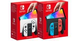 Nintendo Switch OLED [Leclerc, Auchan & Carrefour Frankreich Grenzgänger]