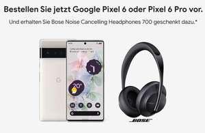 [Young MagentaEINS] Google Pixel 6 mit Bose Kopfhörer im Telekom Magenta Mobil S (19GB 5G) mtl. 24,95€ einm. 4,95€