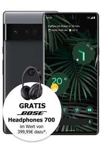 [Young MagentaEINS] Google Pixel 6 Pro 128GB + Bose Kopfhörer im Telekom Magenta Mobil S (19GB 5G) mtl. 24,95€ einm. 353,99€