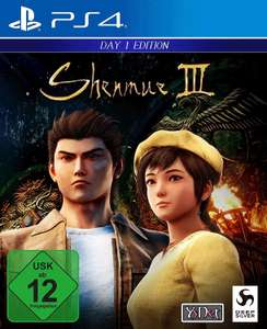 Shenmue III Day One Edition & Zone of the Enders (PS4) für je 9,99€ & Wasteland 2 - Director's Cut (Switch) für 17,99€ (Müller Abholung)