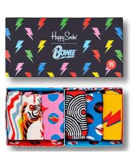 Happy Socks 'Bowie' 6er Pack (Gr. S - M) in Geschenk-Box, verschied. Muster und Farben