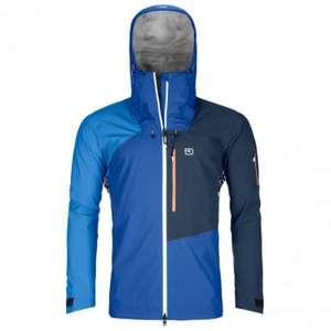 Ortovox Ortler Jacket Men   Regenjacke Blau