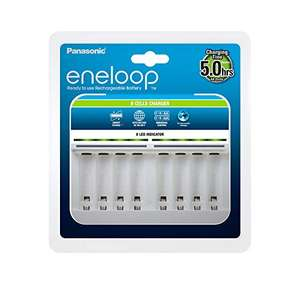 Panasonic eneloop, Intelligentes Premium-Ladegerät für 1-8 Ni-MH Akkus AA/AAA (Prime)