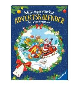 Mein superstarker Adventskalender: Mit 24 Mini-Büchern - Ravensburger Minis. +(Paw Patrol, Weihnachtsbücher)
