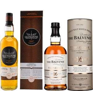 Whisky-Übersicht #115: z.B. Glengoyne The Legacy Series Chapter Two für 48,35€, Balvenie 16 Triple Cask Single Malt für 77,05€ inkl. Versand