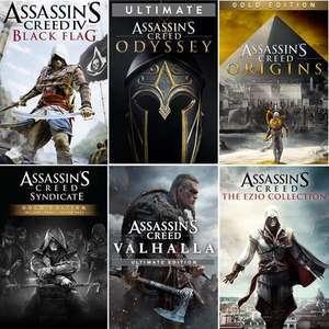 [Xbox BR store] Assassin's Creed Origins Gold für 9€ - Odyssey Ultimate für 11,35€ - Ezio Collection für 5,50€ & more AC games