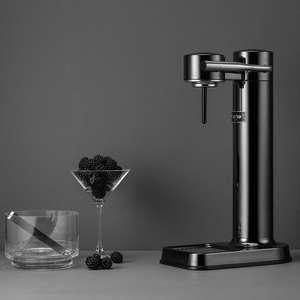 Aarke Carbonator III in schwarz chrome aus Edelstahl
