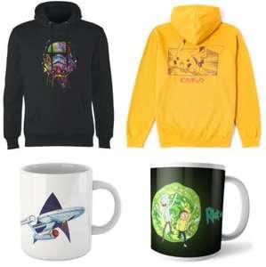 [Zavvi] Hoodie + Tasse für 20,99€, zB: Pokémon, Nintendo, Star Wars, Rick & Morty, Harry Potter uvm.