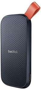 SanDisk Portable SSD 2 TB (externe Festplatte mit SSD Technologie 2,5 Zoll, 520 MB/s Übertragungsraten [Amazon]