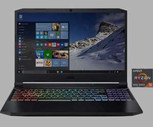 Gaming Laptop Acer AN515-45-R4UE - 15 Zoll, 144Hz, RTX 3060, AMD Ryzen 5 5600H, 16 GB RAM, 512GB SSD, W11 Upgrade, Office 369 1 Jahr