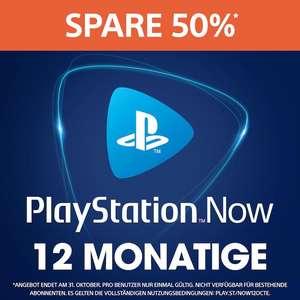 Playstation Now - 12 Monate für 29,99€ (Neukunden)