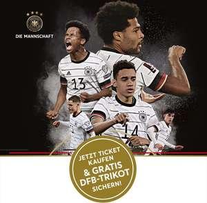 DFB Deutschland Trikot gratis beim Kauf eines Tickets / Deutschland gg. Liechtenstein / 11.11.