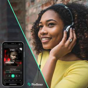 Podimo 99 Cent für 6 Monate | Hörbücher und Podcasts