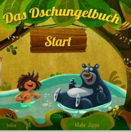 Das Dschungelbuch als interaktives Kinderbuch für iPhone, iPad & iPod Touch gratis