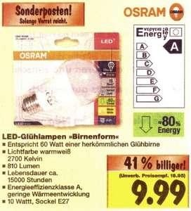 "Osram LED Star Classic A 60 bei ""Kaufland"""