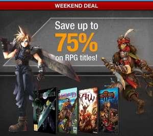 RPG Sale bei GameFly (z.B. Final Fantasy 7 über Steam)