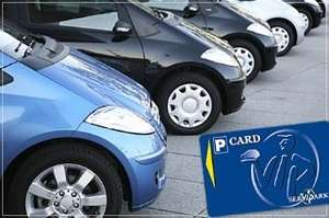 Bis zu 70% beim Parken in vielen Städten sparen - kostenlose Parkkarte von ServiPark