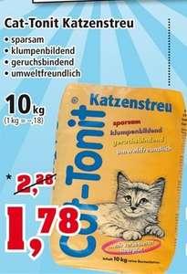 10 KG Cat Tonit Katzenstreu für 1,78 Euro beim Thomas Philipps ( 4 Amazonsterne von 5 )