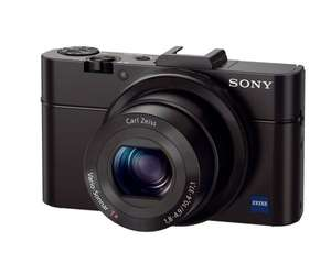 Sony DSC-RX100 II Cyber-shot Digitalkamera (20 Megapixel, 3,6-fach opt. Zoom, 7,6 cm (3 Zoll) Display, Full HD, bildstabilisiert, NFC, WiFi) schwarz für 439€ @Amazon Blitz