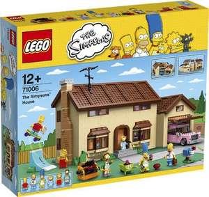 Ab heute bei Intertoys LEGO 71006 The Simpsons - Das Simpsons Haus für 160€