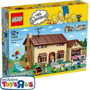 LEGO - 71006 The Simpsons Haus, Toysrus.de, für 169,99€