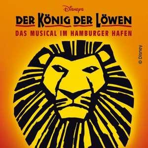 König der Löwen Musical ab 70€  + 5€ - Oktober - Februar - Hamburg