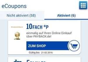 Payback - 10-fach Punkte bei notebooksbilliger.de