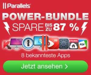(MAC) Parallels Power Bundle mit Parallels 11, 1Password und 6 weiteren Apps - 81% gespart