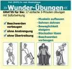 GESUND & FIT: Wessinghages »Wunder-Übungen«  17x3 Minuten Übungen  ( PDF download )