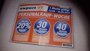Expert Personalkauf für Kunden Woche bis zu 20% Rabatt