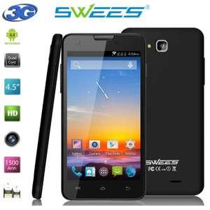 [EBay] SWEES Einsteiger / Zweit-Smartphone mit Quad-Core-CPU, Versand aus Deutschland