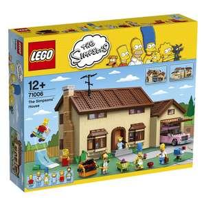 [ToysRus] LEGO Simpsons Haus 71006 oder Kwik-E-Mart 71016  (nur heute gültig)