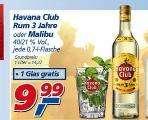 Havana Club mit Glas für 9,99 bei Real