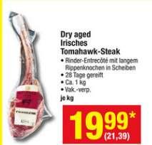 [METRO] Irisches Dry Aged Beef Tomahawk-Steak ab 12.01.