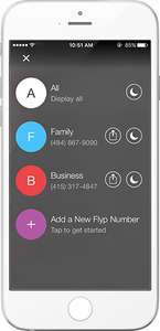 Flyp: Gratis US-Telefonnummer, Telefonate und SMS via App [Android, iOS]