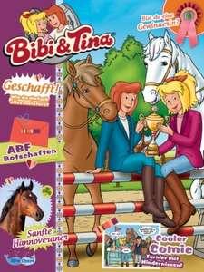 Sammeldeal - Kinderzeitschriften (Filly, Löwenzahn, Bibi, Bibi & Tina, Pferd & Co.) im Jahresabo