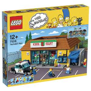 LEGO The Simpsons 71016 Kwik-E-Mart