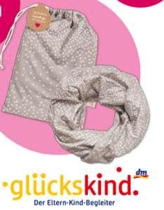 Jetzt neu für alle Schwangeren: gratis Stillschal bei der Anmeldung im [dm glückskind] Programm
