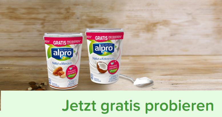 [GzG] Alpro Soja-Joghurtalternative Geld zurück bei Unzufriedenheit