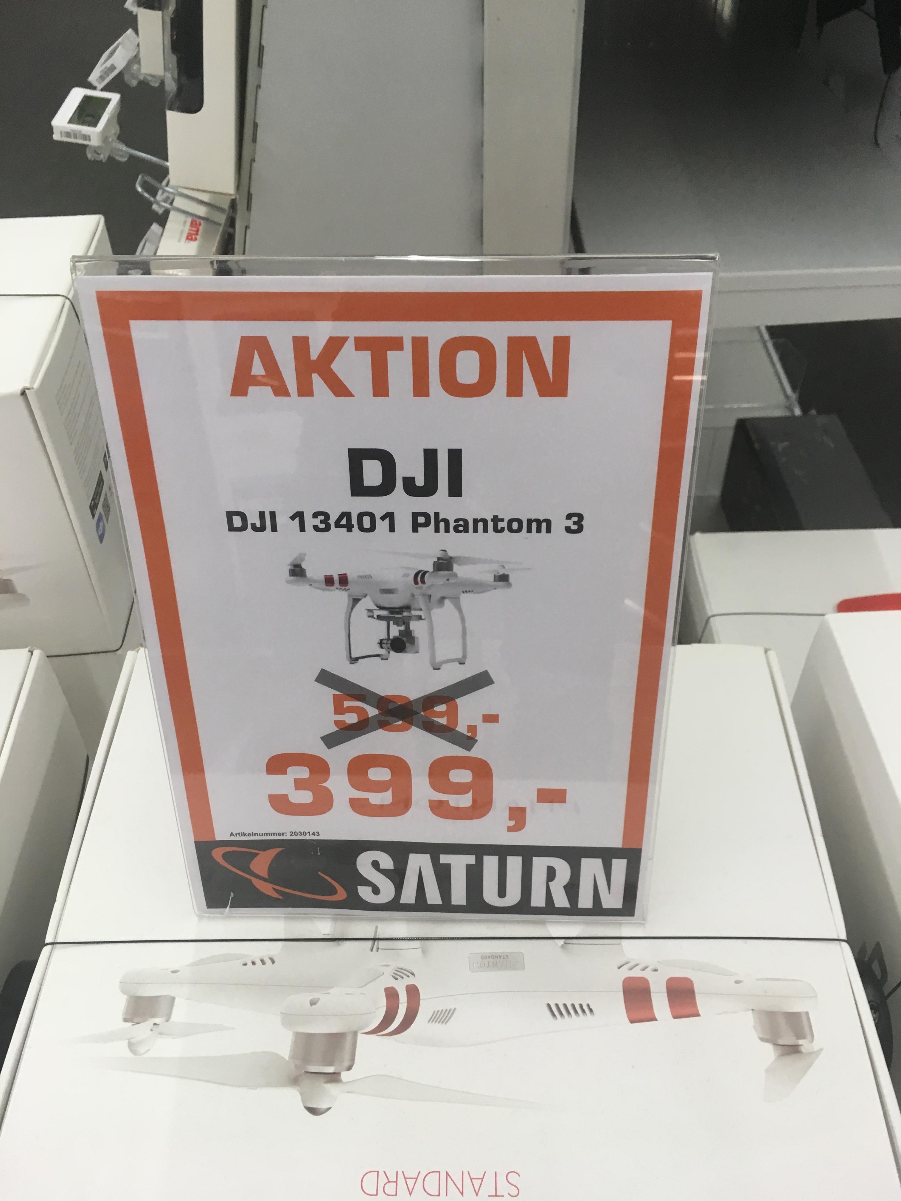 Saturn Stuttgart City Hauptbahnhof DJI Phantom 3