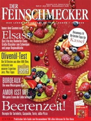 """4 Monate """"Der Feinschmecker"""" lesen für 31,05€ und einen 30€ hohen Bestchoice Universal Gutschein als Prämie erhalten oder alternativ 25€ Amazon"""