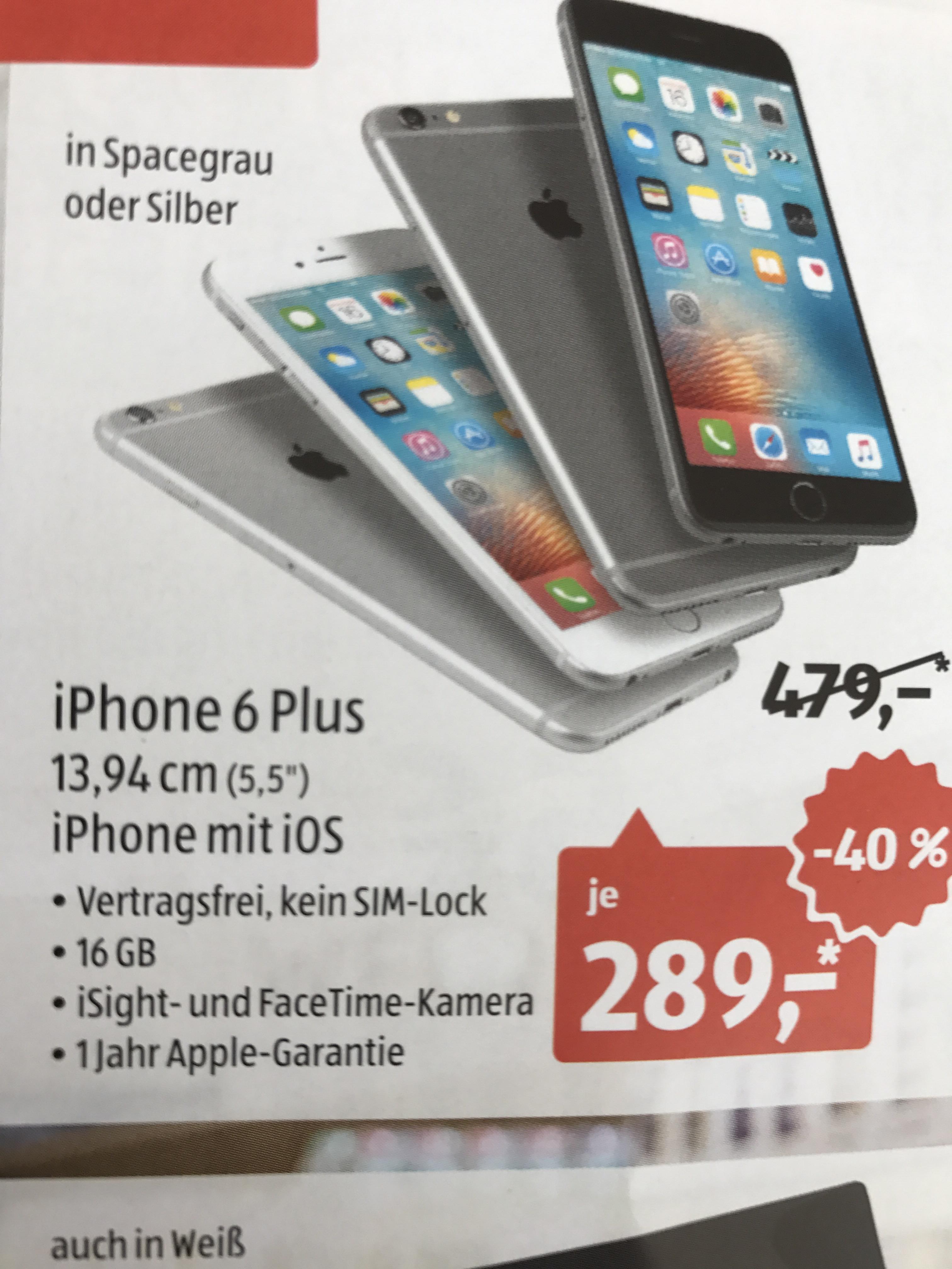 Lokal - Viersen - Aldi Süd Iphone 6 Plus offline
