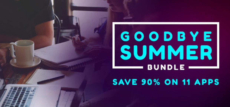 (MAC) Goodbye Summer Bundle für den Mac mit 11 Apps inkl. TextExpander für 33,60€