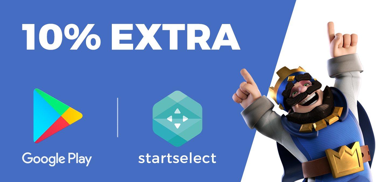 [Google Play] 10% Extra Guthaben