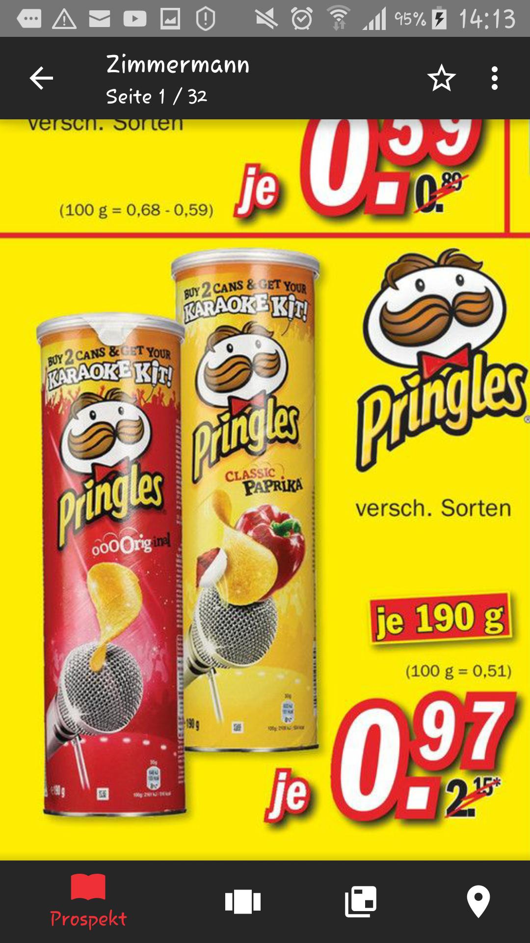 Pringles Bestpreis Zimmermann
