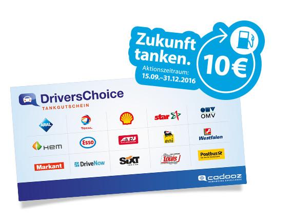 10-Euro-Tankgutschein bei Kauf eines Gigaset-Telefons (z.B. C430HX für effektiv 24,29 Euro)